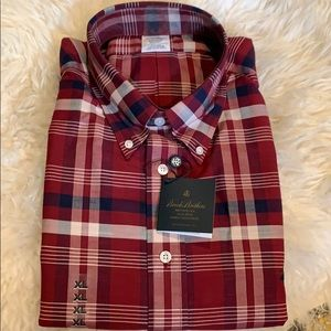 NWT Brooks Brother men's button down shirt size XL